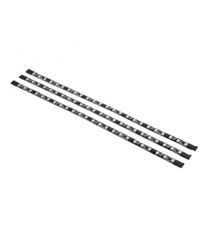 "LED strip DEEPCOOL, color light strip, RGB, 3 culori, atasare cu magnet, telecomanda, 1200mm, ""RGB 380"""