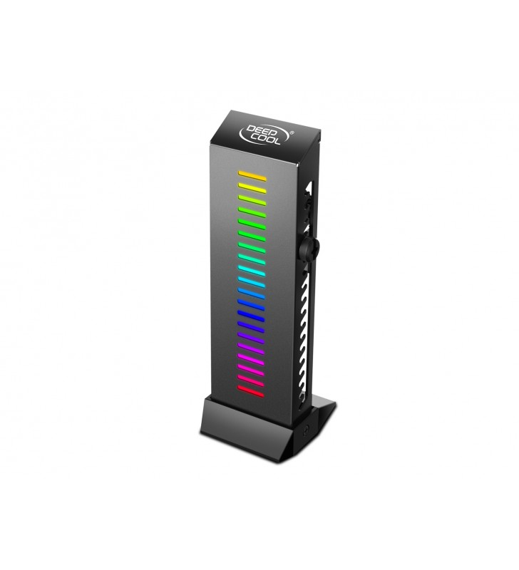 "VGA card holder DEEPCOOL cu iluminare RGB, ""GH-01 A-RGB"""