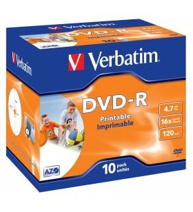 Verbatim 43521 DVD-uri blank 4,7 Giga Bites DVD-R 10 buc.