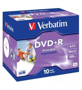 Verbatim 43508 DVD-uri blank 4,7 Giga Bites DVD+R 10 buc.