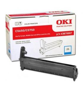 OKI Cyan image drum for C5650   C5750 cilindrii imprimante Original