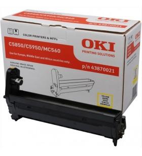 OKI Yellow image drum for C5850 5950 cilindrii imprimante Original