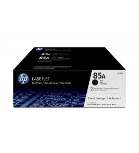 HP 85A Original Negru Pachet multiplu 2 buc.