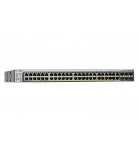 Netgear GS752TPSB-100EUS switch-uri Gestionate L3 Din oţel inoxidabil 1U Power over Ethernet (PoE) Suport
