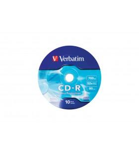 Verbatim CD-R 52X 700MB 10PK OPS Wrap EP 700 Mega bites 10 buc.