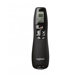 Logitech R700 prezentatori wireless RF Negru