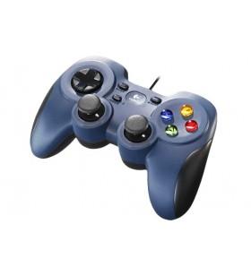 Logitech F310 Gamepad PC-ul USB 2.0 Negru, Albastru