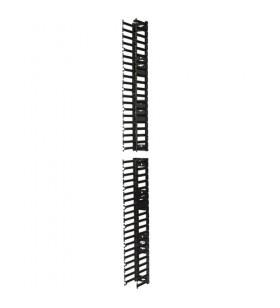 APC AR7580A jgheaburi metalice pentru cabluri Suport cablu direct Negru