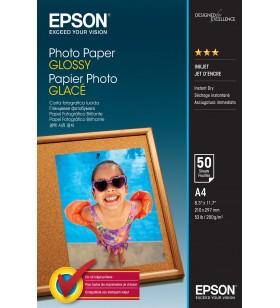 Epson Photo Paper Glossy - A4 - 50 de coli