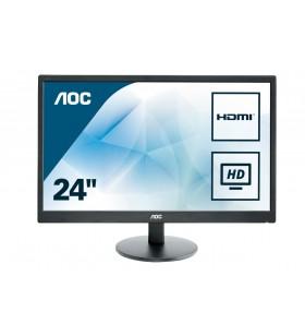 "AOC Basic-line E2470SWHE LED display 59,9 cm (23.6"") 1920 x 1080 Pixel Full HD Negru"