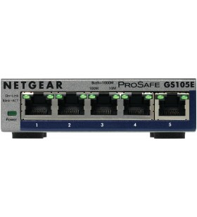 Netgear GS105E-200PES switch-uri Gestionate L2 L3 Gigabit Ethernet (10 100 1000) Gri