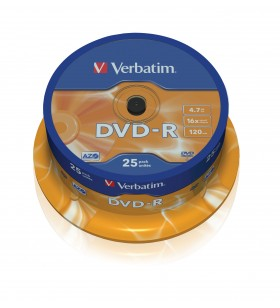 Verbatim 43667 4,7 Giga Bites DVD-R 25 buc.