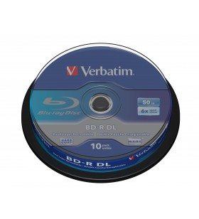 Verbatim 43746 discuri Blu-Ray blank BD-R 50 Giga Bites 10 buc.