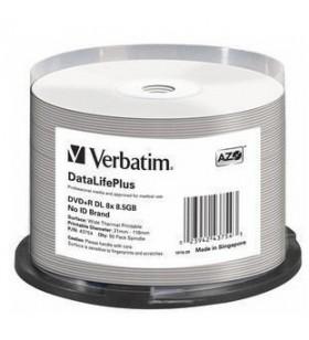 Verbatim DataLifePlus 8,5 Giga Bites DVD+R DL 50 buc.