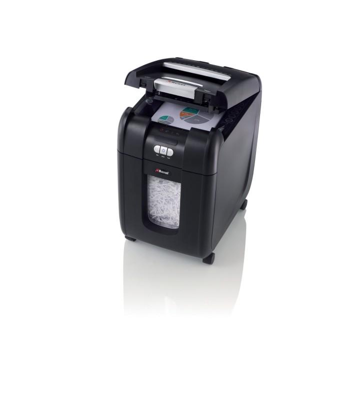 """Distrugator automat documente AUTO+ 200X, 200 coli, P4, cross-cut (tip confeti) Rexel """"2103175EU"""""""