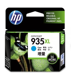 HP 935XL High Yield Cyan Original Ink Cartridge 1 buc.