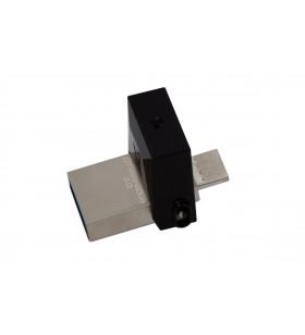 Kingston Technology DataTraveler 64GB microDuo 3.0 memorii flash USB 64 Giga Bites USB Type-A   Micro-USB 3.2 Gen 1 (3.1 Gen 1)