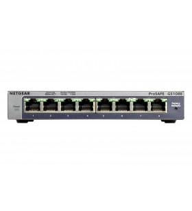Netgear GS108E Gigabit Ethernet (10 100 1000) Negru