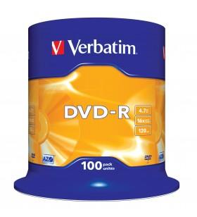 Verbatim DVD-R Matt Silver 4,7 Giga Bites 100 buc.