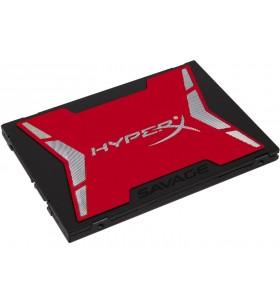 "HyperX SAVAGE 2.5"" 120 Giga Bites ATA III Serial MLC"