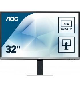 "AOC Pro-line Q3277PQU monitoare LCD 81,3 cm (32"") 2560 x 1440 Pixel Quad HD LED Negru"