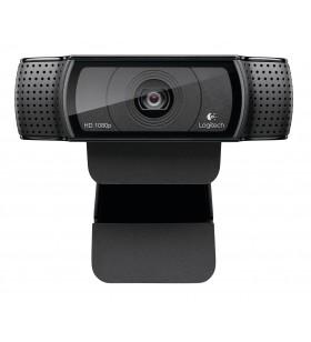 Logitech C920 camere web 15 MP 1920 x 1080 Pixel USB 2.0 Negru