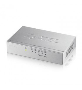 Zyxel GS-105B v3 Fara management L2+ Gigabit Ethernet (10 100 1000) Argint