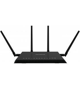 Netgear X4S AC2600 router wireless Bandă dublă (2.4 GHz  5 GHz) Gigabit Ethernet Negru