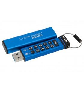 Kingston Technology DataTraveler 2000 16GB memorii flash USB 16 Giga Bites USB Tip-A 3.2 Gen 1 (3.1 Gen 1) Albastru