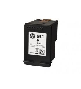 HP 651 Black Original Ink Advantage Cartridge Negru