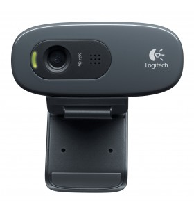 Logitech C270 camere web 3 MP 1280 x 720 Pixel USB 2.0 Negru
