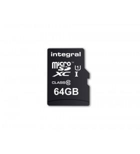 Integral INMSDX64G10-90U1 memorii flash 64 Giga Bites MicroSD UHS-I