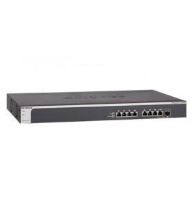 Netgear XS708E Gestionate L2 10G Ethernet (100 1000 10000) Negru