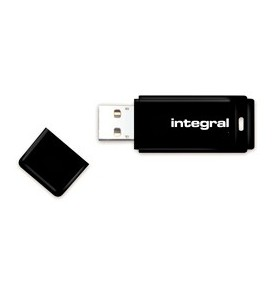 Integral BLACK memorii flash USB 16 Giga Bites USB Tip-A 2 Negru