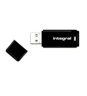 Integral BLACK memorii flash USB 32 Giga Bites USB Tip-A 2 Negru