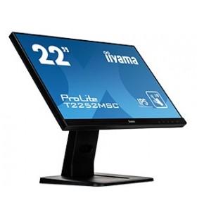 """iiyama ProLite T2252MSC-B1 monitoare cu ecran tactil 54,6 cm (21.5"""") 1920 x 1080 Pixel Negru Multi-touch"""