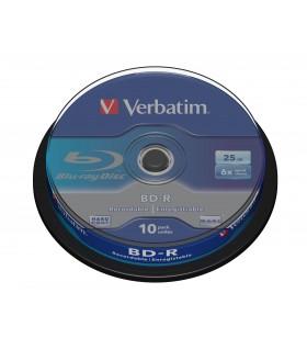 Verbatim BD-R SL 25GB 6 x 10 Pack Spindle 25 Giga Bites 10 buc.