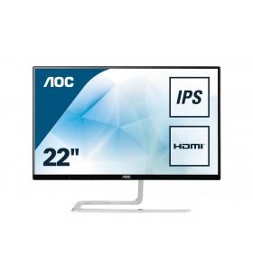 """AOC Style-line I2281FWH monitoare LCD 54,6 cm (21.5"""") 1920 x 1080 Pixel Full HD LED Negru, Argint"""