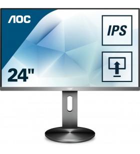 "AOC Pro-line I2490PXQU BT monitoare LCD 60,5 cm (23.8"") 1920 x 1080 Pixel Full HD LED Gri"