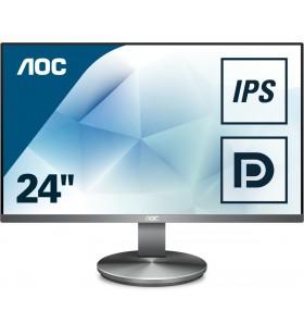 "AOC Value-line I2490VXQ BT monitoare LCD 60,5 cm (23.8"") 1920 x 1080 Pixel Full HD LED Gri"