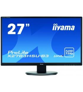 "iiyama ProLite X2783HSU-B3 monitoare LCD 68,6 cm (27"") 1920 x 1080 Pixel Full HD LED Negru"