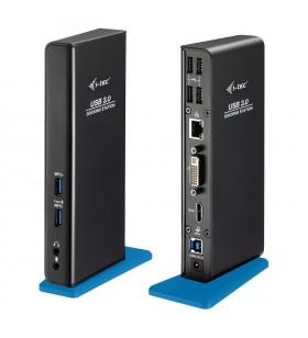 i-tec U3HDMIDVIDOCK stații de andocare și replicatoare de porturi pentru calculatoare portabile Tip dock USB 3.2 Gen 1 (3.1 Gen