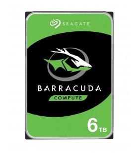 """Seagate Barracuda 6TB 3.5"""" 6000 Giga Bites ATA III Serial"""