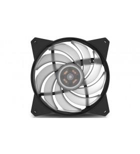 Cooler Master MasterFan MF120R RGB Placă de bază Distracţie 12 cm Negru, Transparente