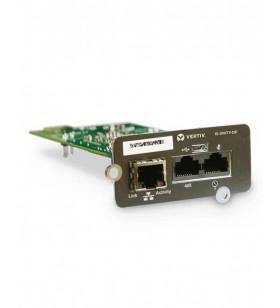 Vertiv Liebert IS-UNITY-SNMP plăci de rețea Ethernet 100 Mbit s Intern