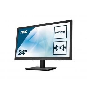 """AOC Essential-line E2475SWQE LED display 59,9 cm (23.6"""") 1920 x 1080 Pixel Full HD Negru"""