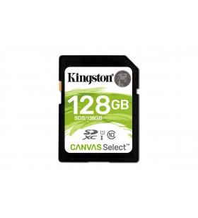 Kingston Technology Canvas Select memorii flash 128 Giga Bites SDXC Clasa 10 UHS-I