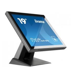 "iiyama ProLite T1931SR-B5 monitoare cu ecran tactil 48,3 cm (19"") 1280 x 1024 Pixel Negru O singură atingere"