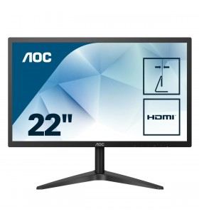"AOC Basic-line 22B1H monitoare LCD 54,6 cm (21.5"") 1920 x 1080 Pixel Full HD LED Negru"