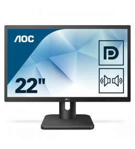 "AOC Essential-line 22E1Q monitoare LCD 54,6 cm (21.5"") 1920 x 1080 Pixel Full HD LED Negru"